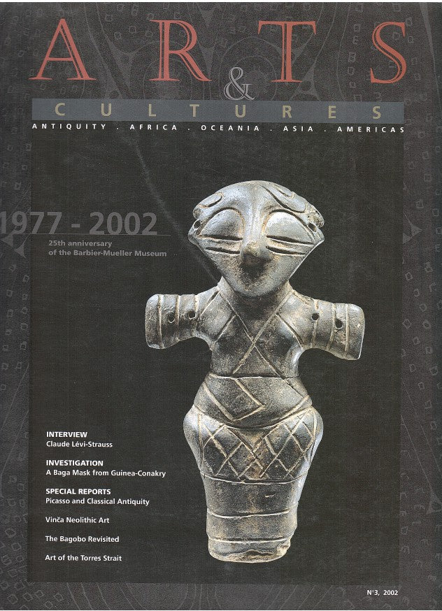ARTS & CULTURES, a magazine dedicated to the arts of antiquity, Africa, Asia, Oceana and the Americas, No. 3