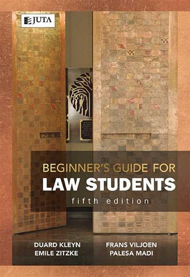 BEGINNER's GUIDE FOR LAW STUDENTS, fifth edition