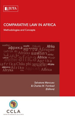 COMPARATIVE LAW IN AFRICA, methodologies and concepts