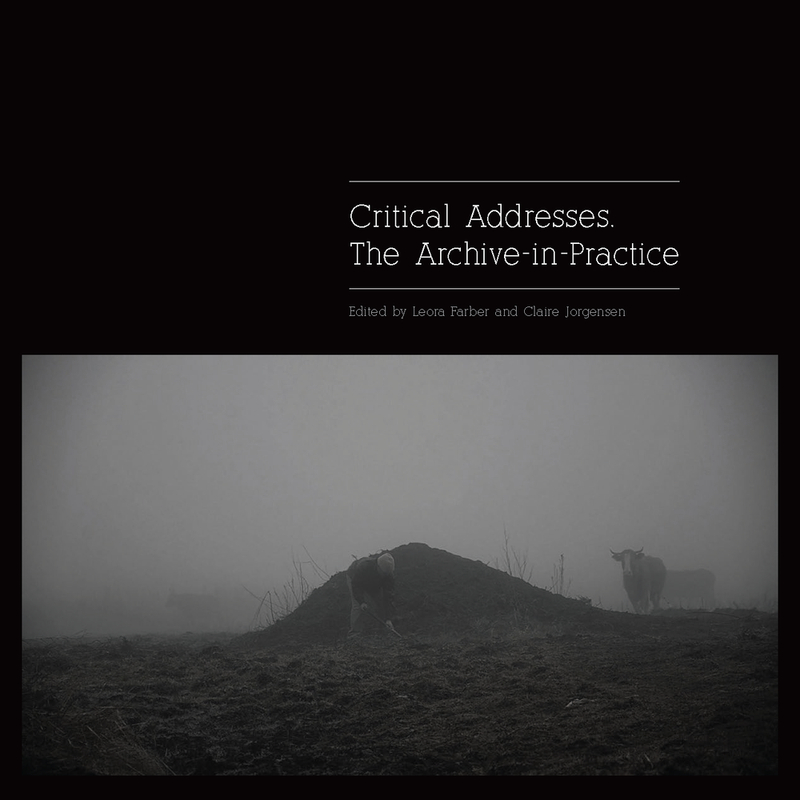 CRITICAL ADDRESSES, the archive in practice