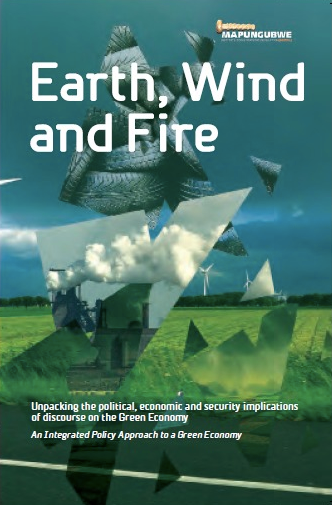 EARTH, WIND AND FIRE, unpacking the political, economic and security implications of discourse on the green economy