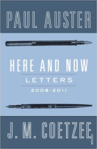 HERE AND NOW, letters, 2008-2011