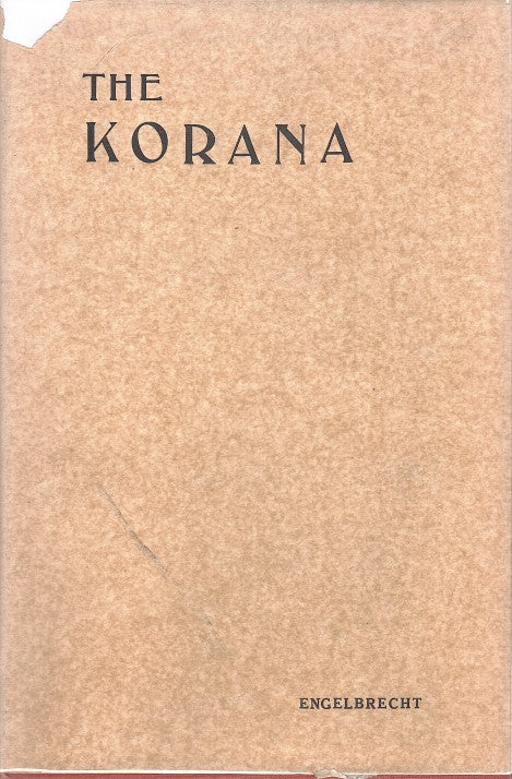 THE KORANA, an account of their customs and their history with texts