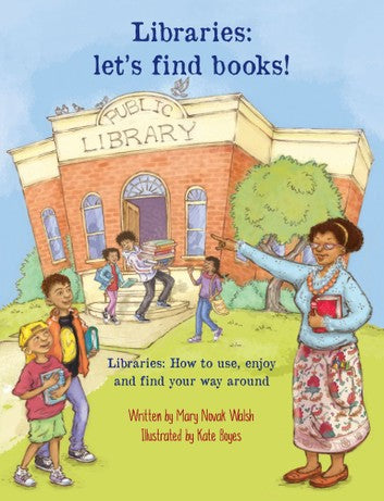 LIBRARIES, let's find books!
