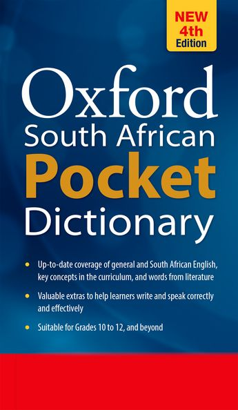 OXFORD SOUTH AFRICAN POCKET DICTIONARY