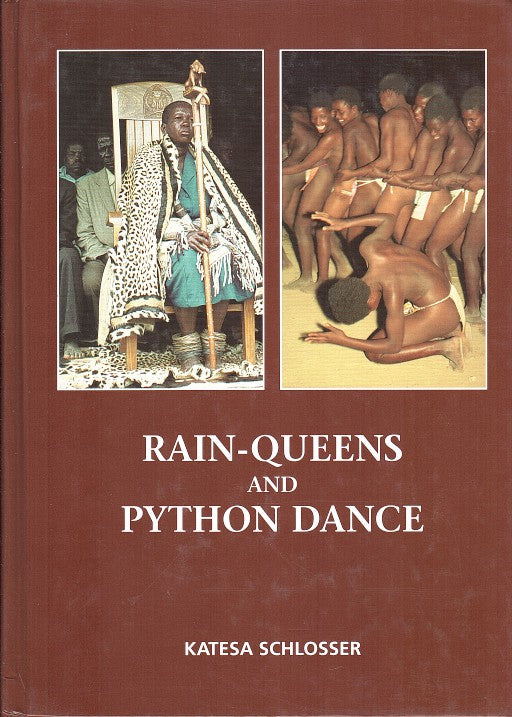 RAIN-QUEENS AND PYTHON DANCES. historical colour photographs of Lovedu and Venda life in northern Transvaal, appendix in black and white, Venda Craftsmen in 1953