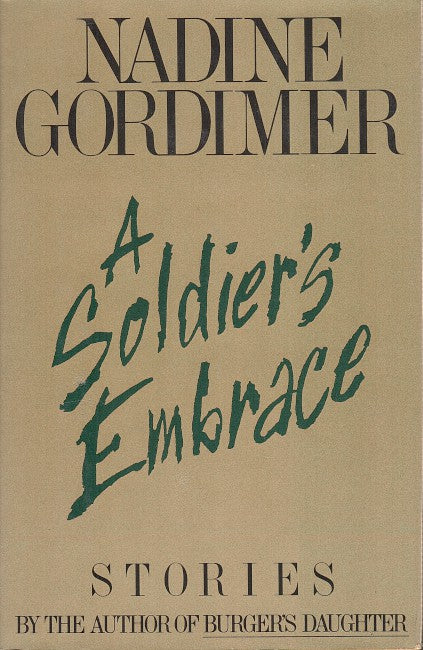 A SOLDIER'S EMBRACE, stories
