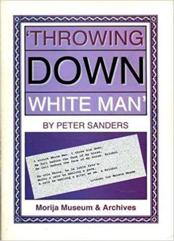 'THROWING DOWN WHITE MAN', Cape rule and misrule in colonial Lesotho, 1871-1884
