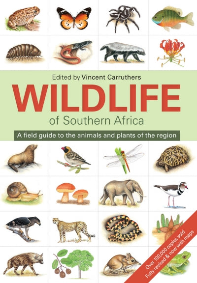 WILDLIFE OF SOUTHERN AFRICA, a field guide to the animals and plants of the region