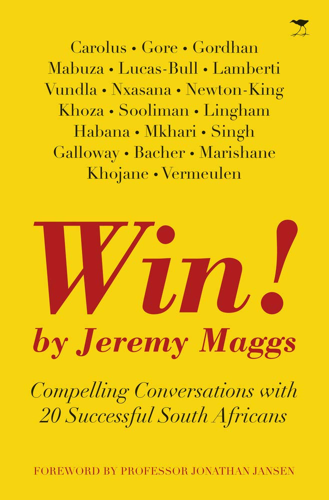 WIN!, compelling conversations with 20 successful South Africans