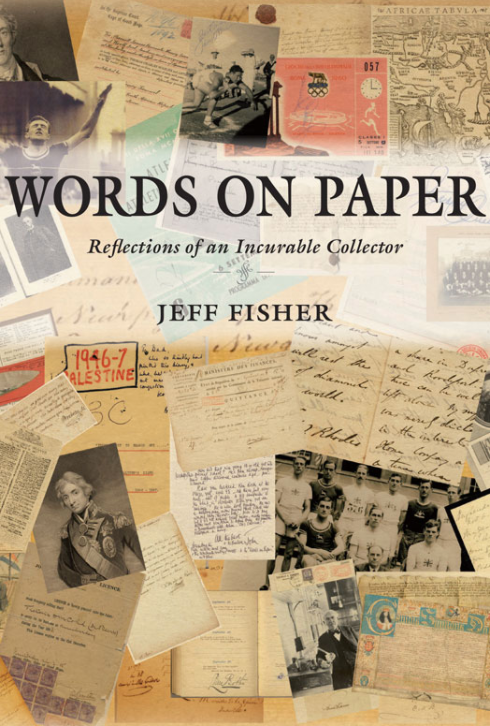 WORDS ON PAPER, reflections on an incurable collector