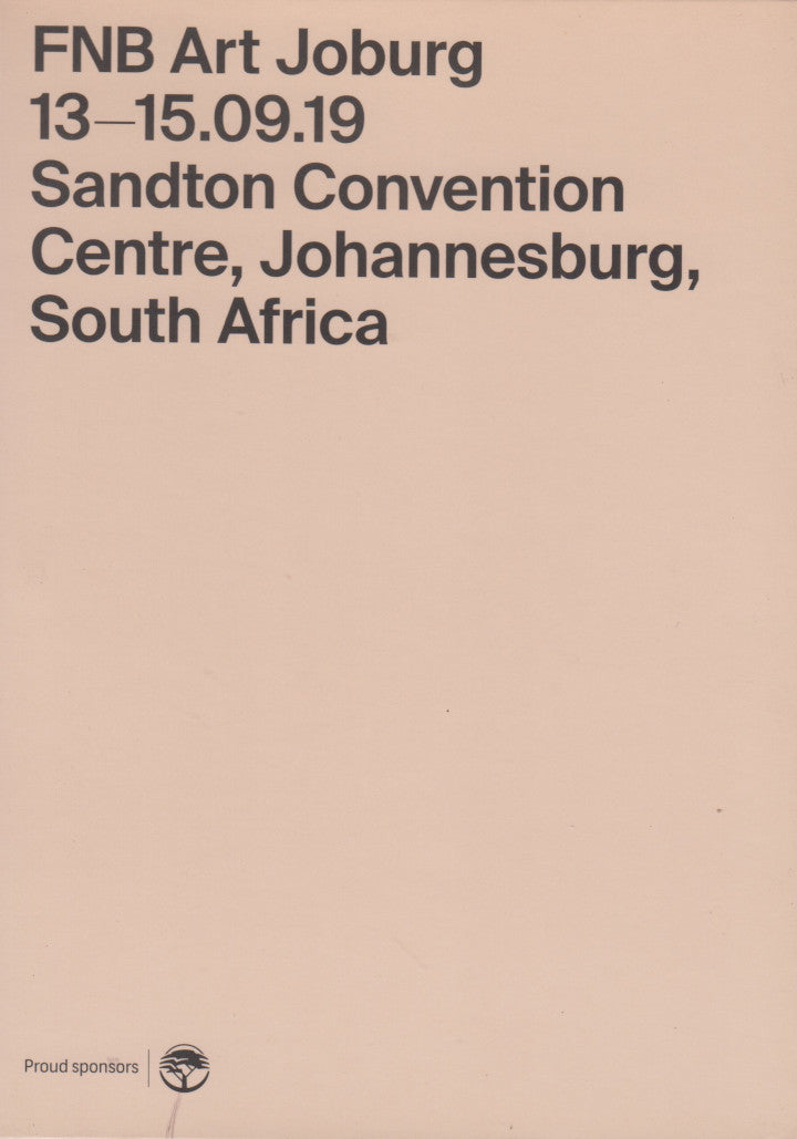 FNB ART jOBURG, 13-15.09.19, Sandton Convention Centre, Johannesburg, South Africa