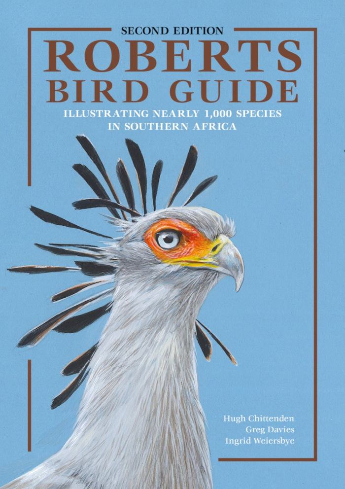 ROBERTS BIRD GUIDE, illustrating nearly 1,000 species in southern Africa