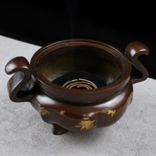 Load image into Gallery viewer, Antique Qianqing Palace Incense Burner   苏工龙盖乾清宫香炉