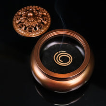 Load image into Gallery viewer, Copper Large Incense Burner 纯铜大号铜炉