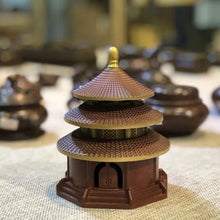 Load image into Gallery viewer, Pure Copper Incense Burner - Temple of Heaven 纯铜烧色天坛香炉