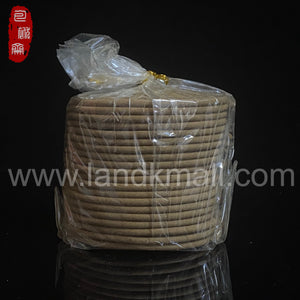 Indonesia Red Soil Agarwood Incense Coil 印尼红土沉香盘香