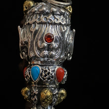 Load image into Gallery viewer, Silver Vajra Pendant 足银降魔金刚杵吊坠