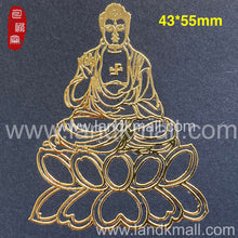 Load image into Gallery viewer, Traditional Pattern Metal Stickers 传统吉祥图金属贴