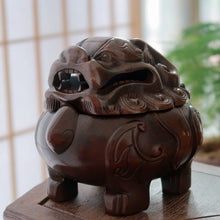 Load image into Gallery viewer, Antique Suan Ni Incense Burner  狻猊香炉