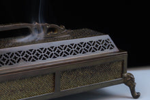 Load image into Gallery viewer, Long Yun Xuande Incense Burner 龙韵宣德卧香炉