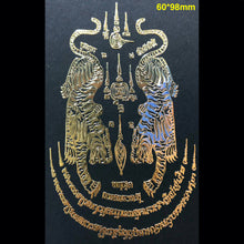 Load image into Gallery viewer, Thai Sak Yant Metal Sticker 泰经刺符金属符帖