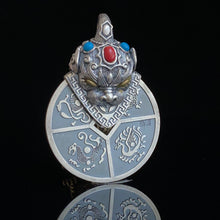 Load image into Gallery viewer, Silver Pixiu Pendant 足银貔貅咬钱吊坠