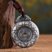 Load image into Gallery viewer, Silver 999 Peace Button Pendant 足银999平安扣吊坠