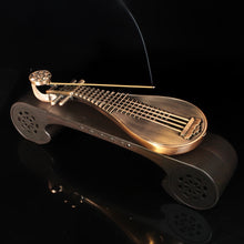 Load image into Gallery viewer, Classical Lute Incense Sticks Burner with Bluetooth Speaker 琵琶机