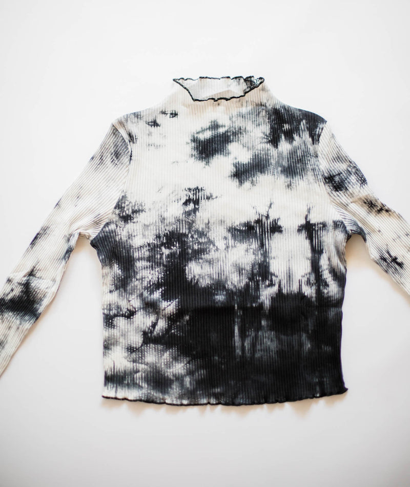 Lele Cropped Tie Dye Top