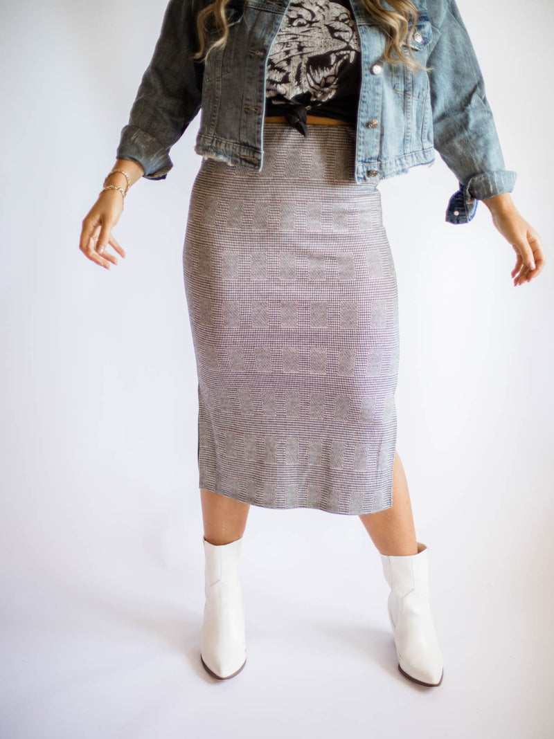 The Lily Plaid Skirt