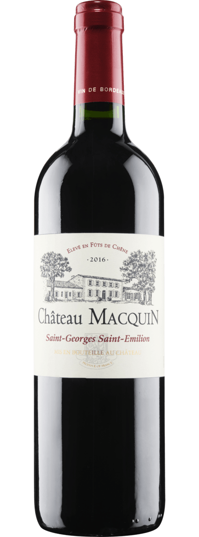 Chateau Macquin Saint-Georges Saint-Emilion 2016 - Haar at Home