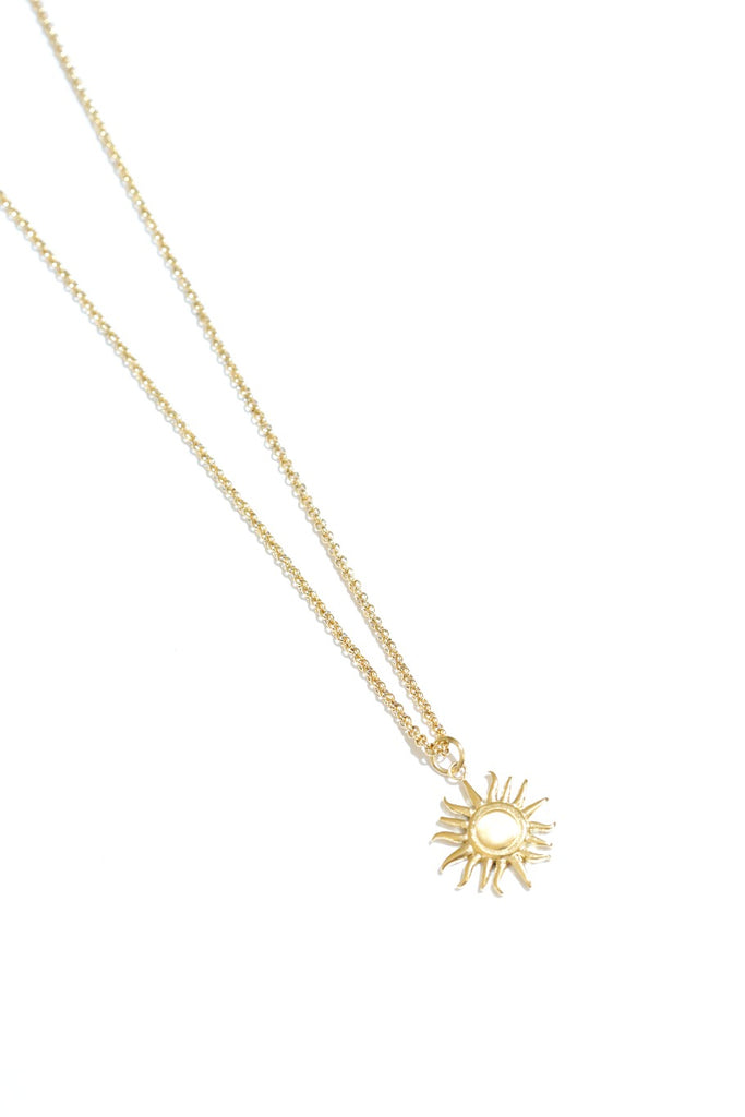 SOL NECKLACE | GOLD