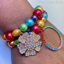 Load image into Gallery viewer, Rainbow Bracelet Set