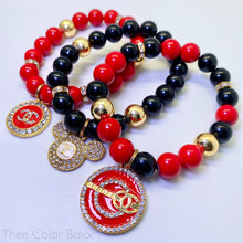 Load image into Gallery viewer, Mickey Chanel Bracelet Set