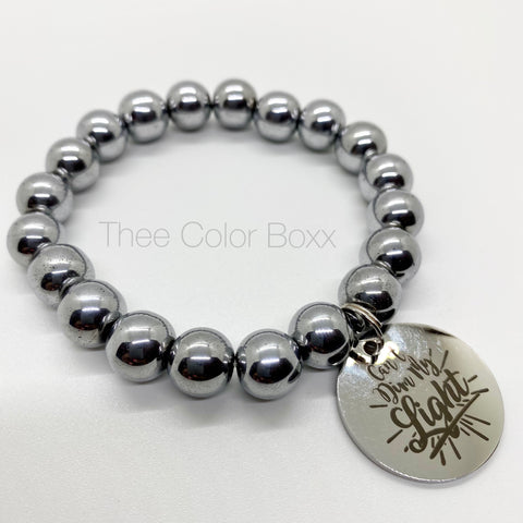 """Can't Dim My Light!"" Single Bracelet"