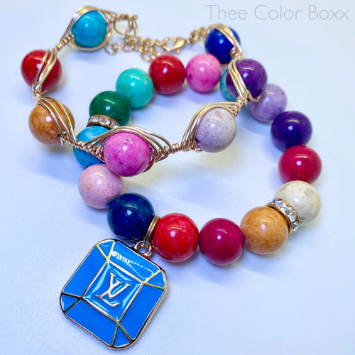 Hard Candy LV Bracelet Set