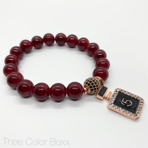 Red No. 5 Single Bracelet