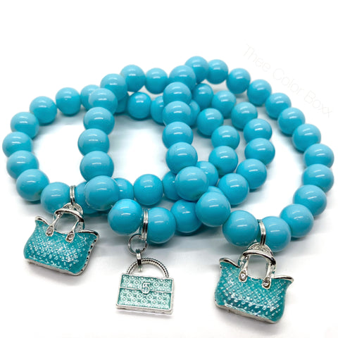 Pretty in Blue Bracelets