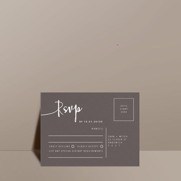 Alchemy RSVP Card
