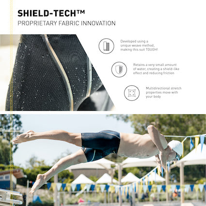 Rival FINIS shield tech fabric for race suits
