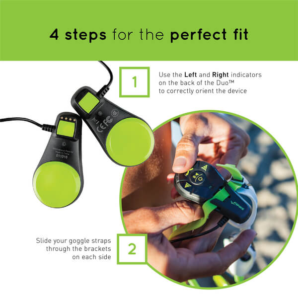FINIS Duo quick start guide for underwater MP3 player