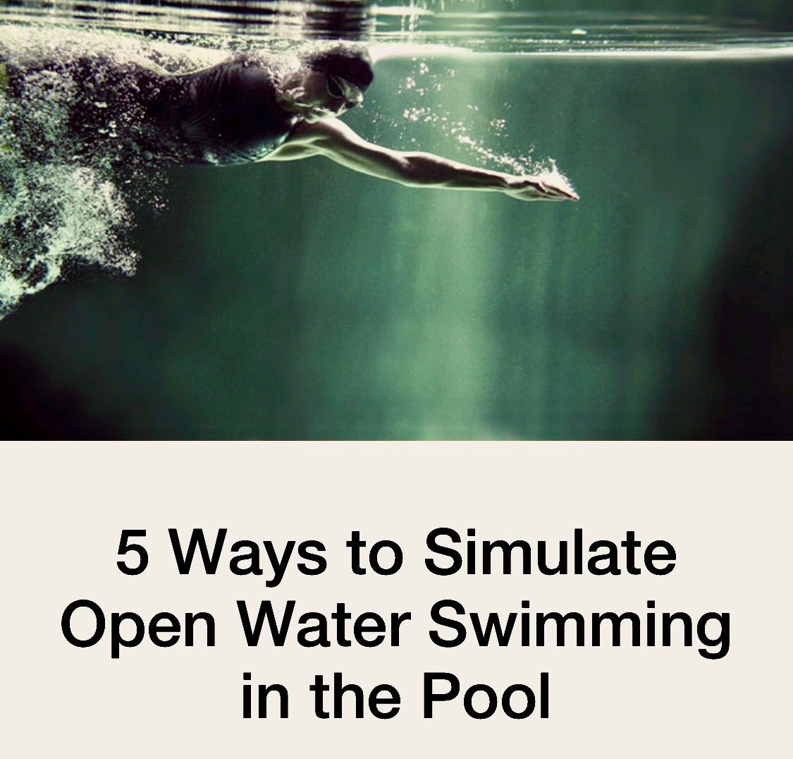 FINIS Australia explores ways to simulate open water swimming in the pool