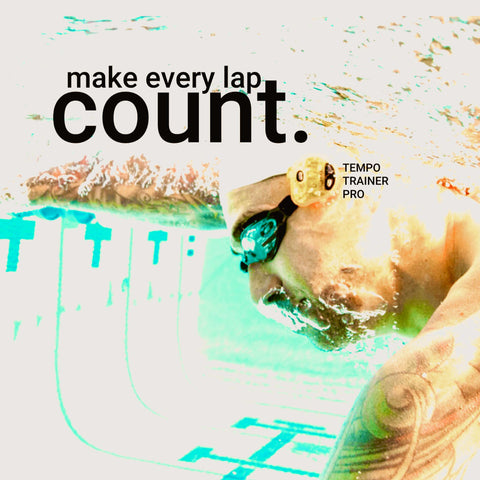 FINIS Tempo Trainer Pro helps swimmers hit their target stroke rate