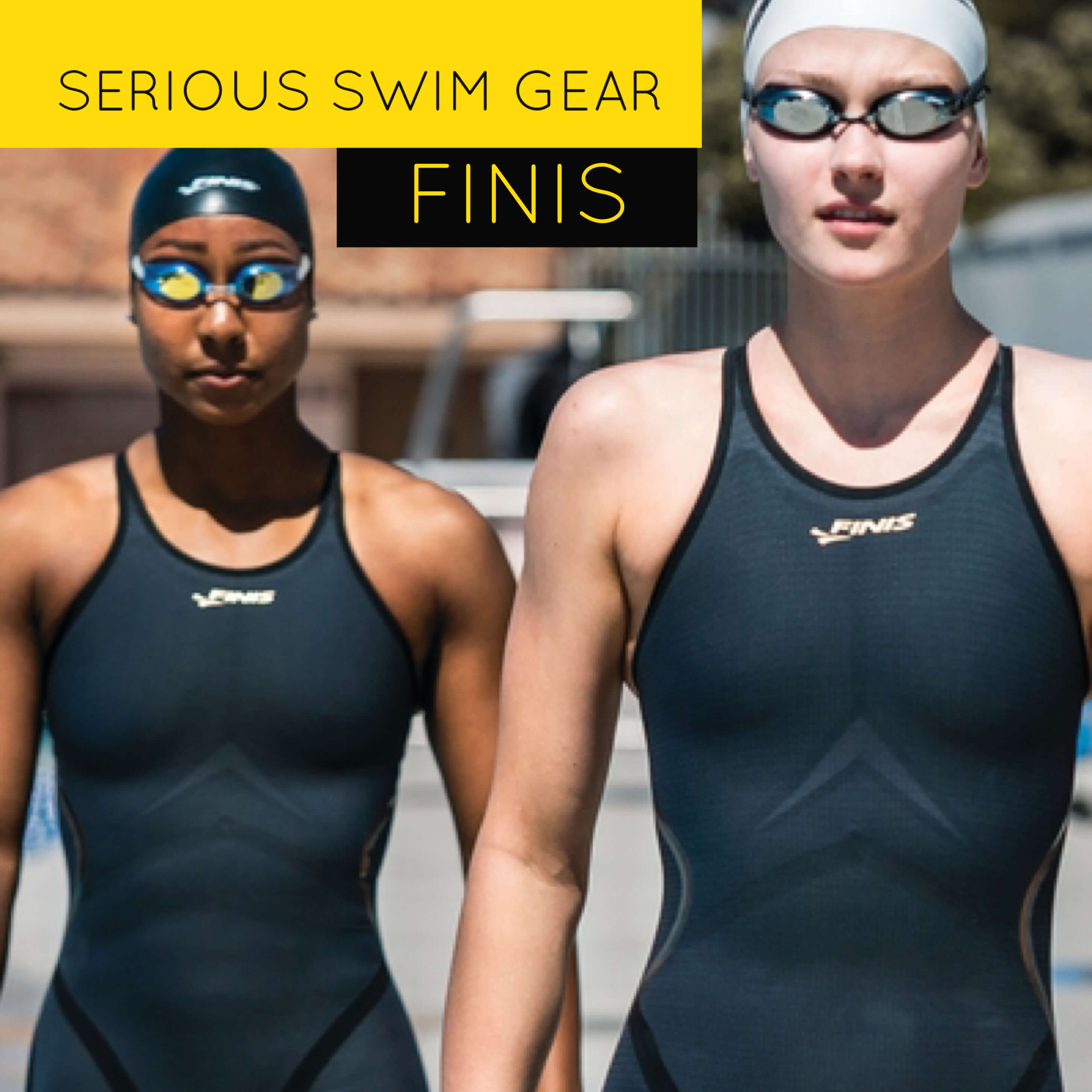 FINIS develops serious swim equipment to help competitive swimmers achieve their best