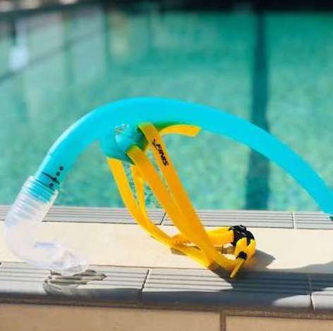 FINIS Australia stability snorkel in teal