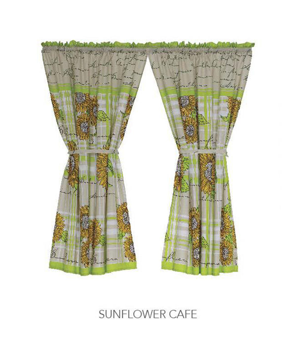 Kitchen Curtain - Sunflower Cafe