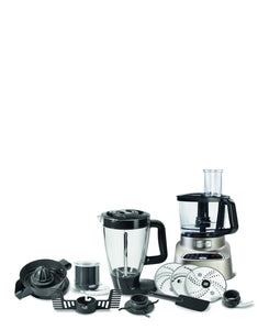 Moulinex Multifunction Double Force Food Processor - Silver