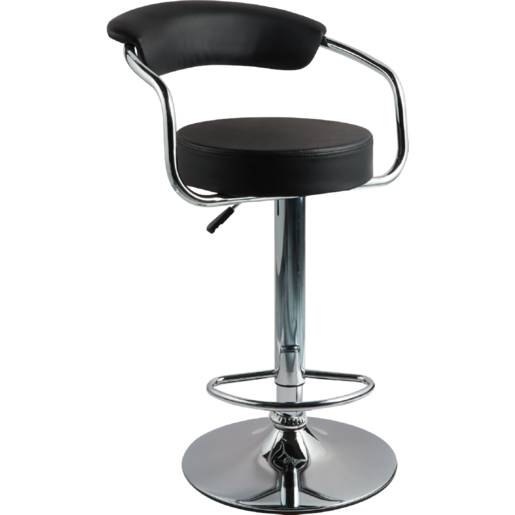 Mombasa Bar Stool Black