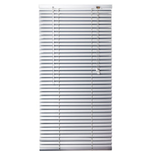 Urban Decor Ávila Venetian  25mm Aluminium Blinds - Silver - 1200 x 1600 mm